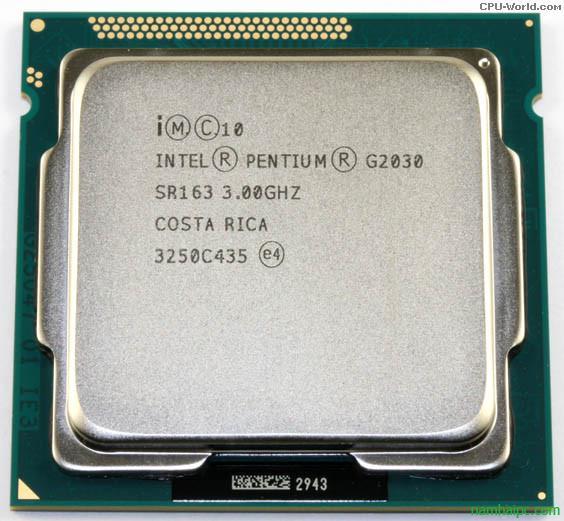 Intel Pentium G2030 (3.0Ghz)